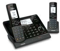 VTECH VS150 TWIN CORDLESS PHONE WITH VSMART WIRE-FREE HOME