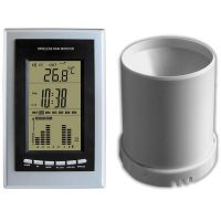 LENOXX WIRELESS WEATHER STATION WST11 CLOCK RAIN GAUGE IN/OUTDOO