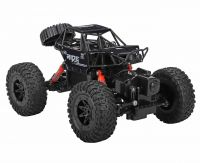 REMOTE CONTROLLED BLACK 4WD AMPHIBIOUS CRAWLER JEEP