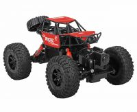 REMOTE CONTROLLED RED 4WD AMPHIBIOUS CRAWLER JEEP