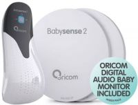 BABYSENSE 2 INFANT RESPIRATORY MONITOR+SECURE 55 MONITOR PACK