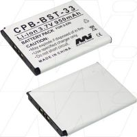 SONY ERICSSON BST33 REPLACEMENT BATTERY