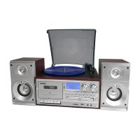 LENOXX CD114 BROWN TURNTABLE PLAYER RECORDER MP3 DECODER ENCODER