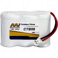 CTB58 EAGLE 940 3.6V NICD CE-K CONN REPLACEMENT BATTERY