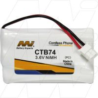 CTB74 CORDLESS TELEPHONE BATTERY SHARP FO-CC500