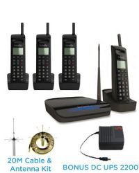 ENGENIUS SN933 QUAD PACK-20 CORDLESS PHONE