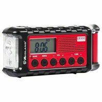 MIDLAND ER300 EMERGENCY SOLAR AM FM DIGITAL RADIO WEATHER ALERT