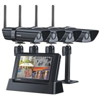 "UNIDEN G3440 Guardian 4.3"" Digital Wireless Surveillance 4 cams"