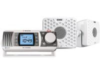 GME GR300BTWEP AM/FM MARINE RADIO ENTERTAINMENT PACK WHITE