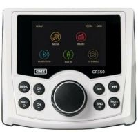 GME GR350BT WHITE AM/FM COMPACT BLUETOOTH MARINE STEREO WITH US