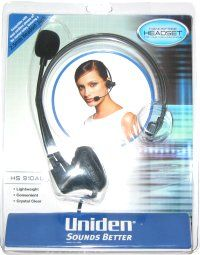 UNIDEN HS910AU HEADSET CORDED HEADSET