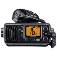 Icom IC-M200 VHF Black Marine Radio Front Mount Speaker