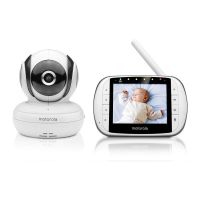 MOTOROLA MBP36 s DELUXE VIDEO AND SOUND BABY MONITOR