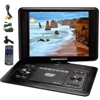 "LENOXX 15.4"" INCH PORTABLE DVD PLAYER SWIVEL SCREEN PDVD1300 DVD"