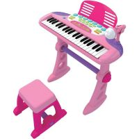 ELECTRONIC MUSICAL KEYBOARD PIANO PINK FOR KIDS