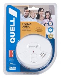 Smoke Alarm Fire Detector Chubb/Quell® Ionisation Aus Certified