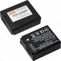 PANASONIC- DMC-TZ3, DMC-TZ1, DMC-TZ2 REPLACEMENT BATTERY