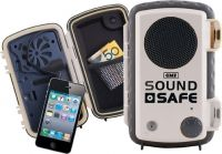 GME Sound Safe Protective Waterproof Case WHITE Model