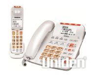 UNIDEN SSE47+1 WHITE CORDED & CORDLESS DIGITAL PHONE SYSTEM