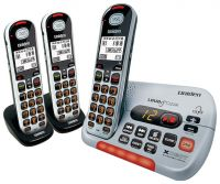 UNIDEN SSE35+2 VISUAL & HEARING IMPAIRED CORDLESS PHONE SYSTEM