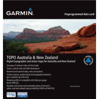 Garmin TOPO Australia & New Zealand Pre-Programmed Data Card
