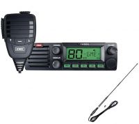 GME TX4500S S DSP 5 WATT UHF RADIO+UNIDEN AT870 ANTENNA PACK