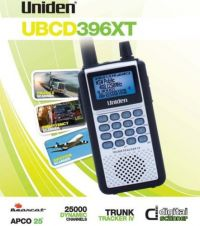 UNIDEN 25000 CHANNEL DIGITAL UBCD396XT DIGITAL SCANNER