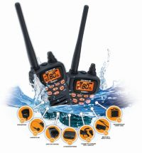 UNIDEN UH076SX-2NB-TP TRADIE PACK TWIN PACK RADIOS 80 CHANNELS