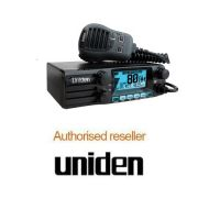 Uniden UH8055S NB 5w Din Mount Uhf Radio Heavy duty Speaker Mic