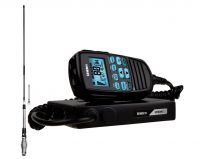 Uniden UH8080 S 80Ch UHF CB Radio & Scanner+Uniden AT880 Twin