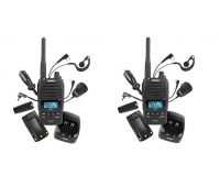 UNIDEN UH850S TWIN UHF WATERPROOF 5W HANDHELD RADIO 80 CHANNEL
