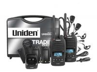UNIDEN UH850S-2TP TWIN TRADIE PACK UHF WATERPROOF HANDHELD RADIO