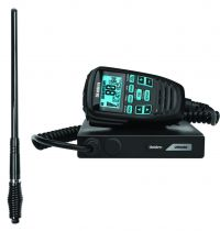 UNIDEN UH9080 80CH 5W UHF RADIO+AT970BKS THICK BLACK ANTENNA