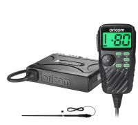 ORICOM UHF390 5 WATT 80 CHANNEL UHF RADIO+ANU1200 1.4M BLACK ANT