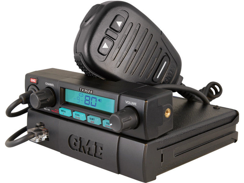 Gme Tx3520 S 80 Channel 5w Remote Mount Uhf Radio Tx35