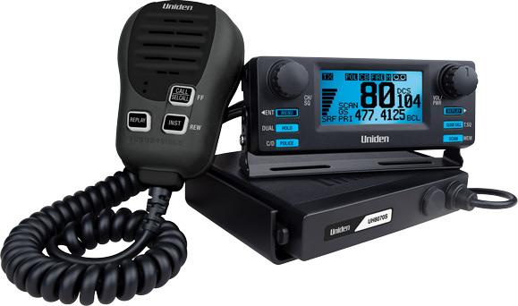 Uniden Uh8070s Remote Head 80 Channel Uhf Cb Radio Uni