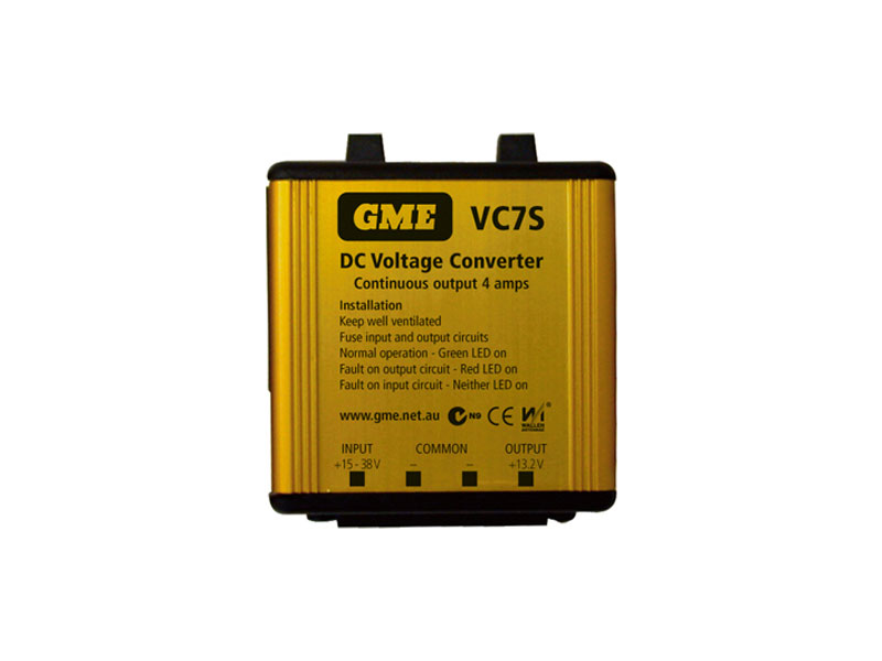 GME 7AMP VC7S VOLTAGE CONVERTOR 24V TO 13.8V